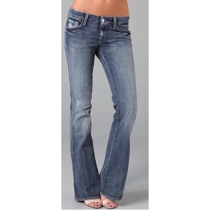 7 For All Mankind A Pocket Flare Jeans 29